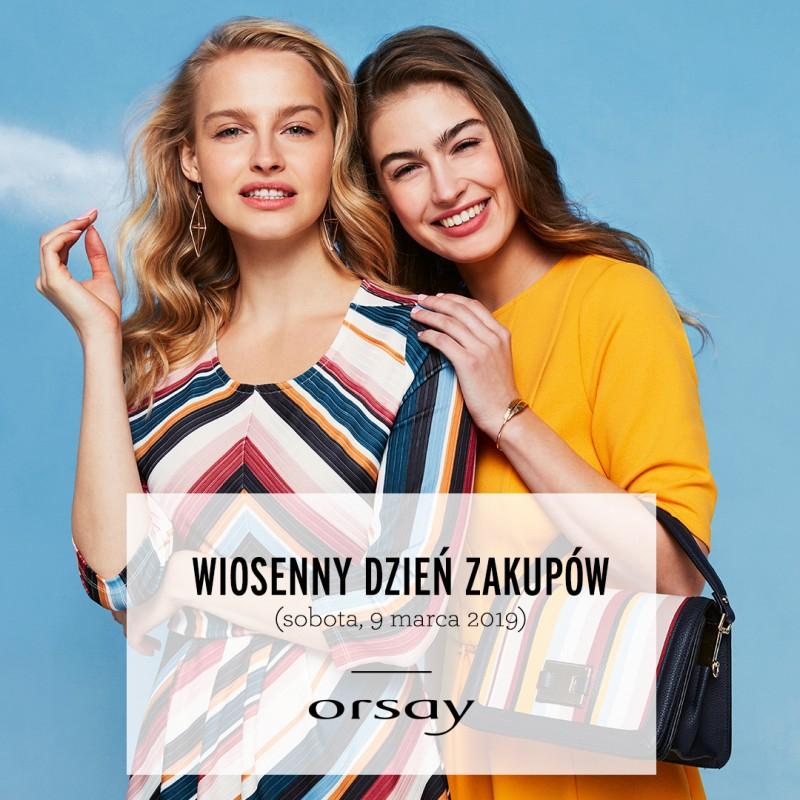 [9 marca] 20% rabatu na zakupy, potrójne punkty klubowe, katalog z bonem @ Orsay