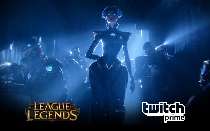 League of legends - darmowa Kapsuła z Twitch Prime