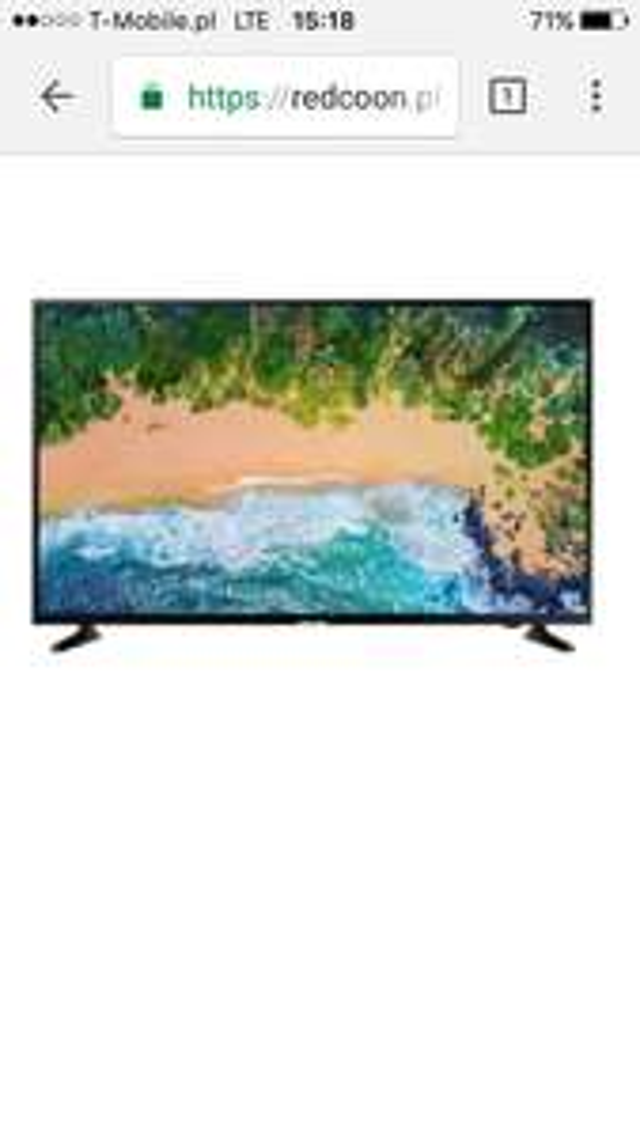 Telewizor SAMSUNG UE43NU7022K