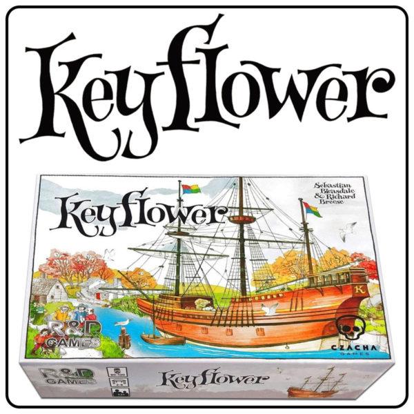 Keyflower (gra planszowa) + Projekt Manhattan R.Ł. -> ZA DARMO (MWZ 100 zł) DARMOWA WYSYŁKA