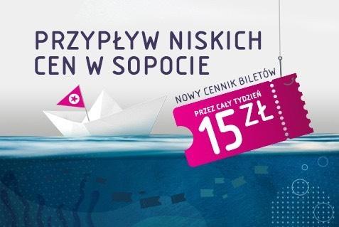Multikino - bilety po 15 zł w Sopocie i Szczecinie oraz po 17/19 zł na Ursynowie