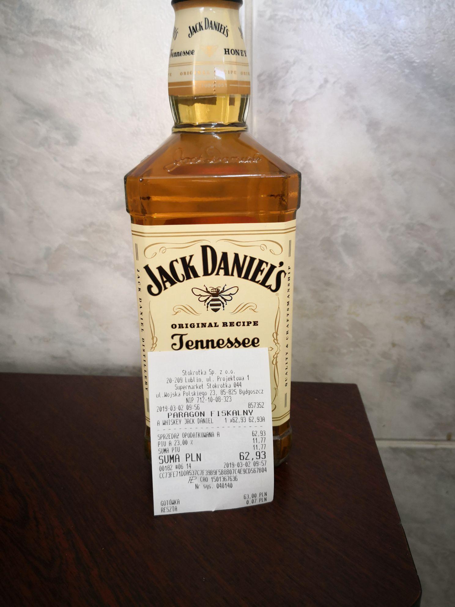 Jack Daniel's Tennessee honey 0.7