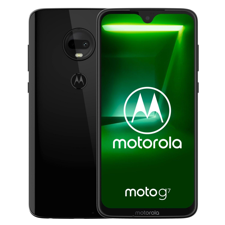 Motorola Moto G7 4/64 GB DualSim Ceramic Black w MediaMarkt