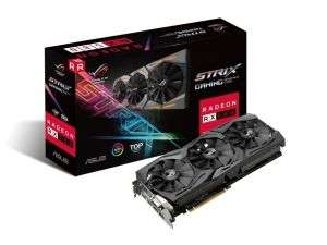 Karta graficzna ASUS RADEON RX 580 STRIX OC 8GB