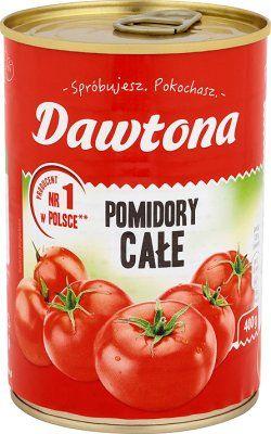 Pomidory całe w puszce 400g, Dawtona, Makro