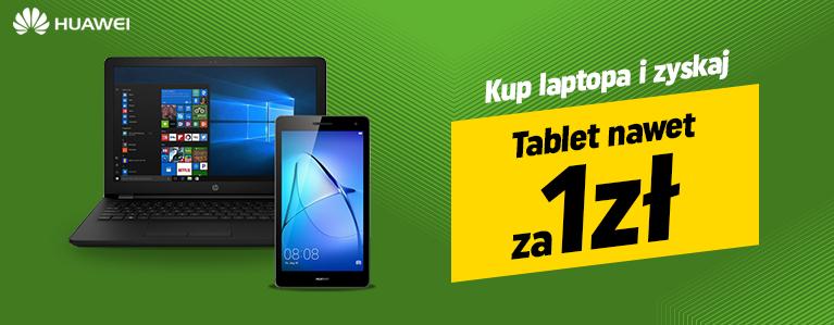 Tablet Huawei Mediapad T3 od 1zł przy kupnie laptopa