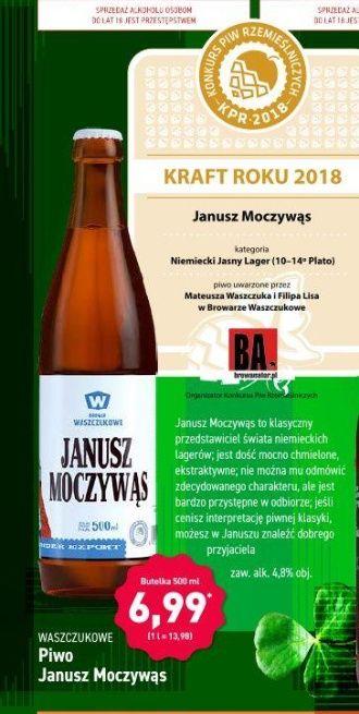 Janusz Moczywąs i inne piwa