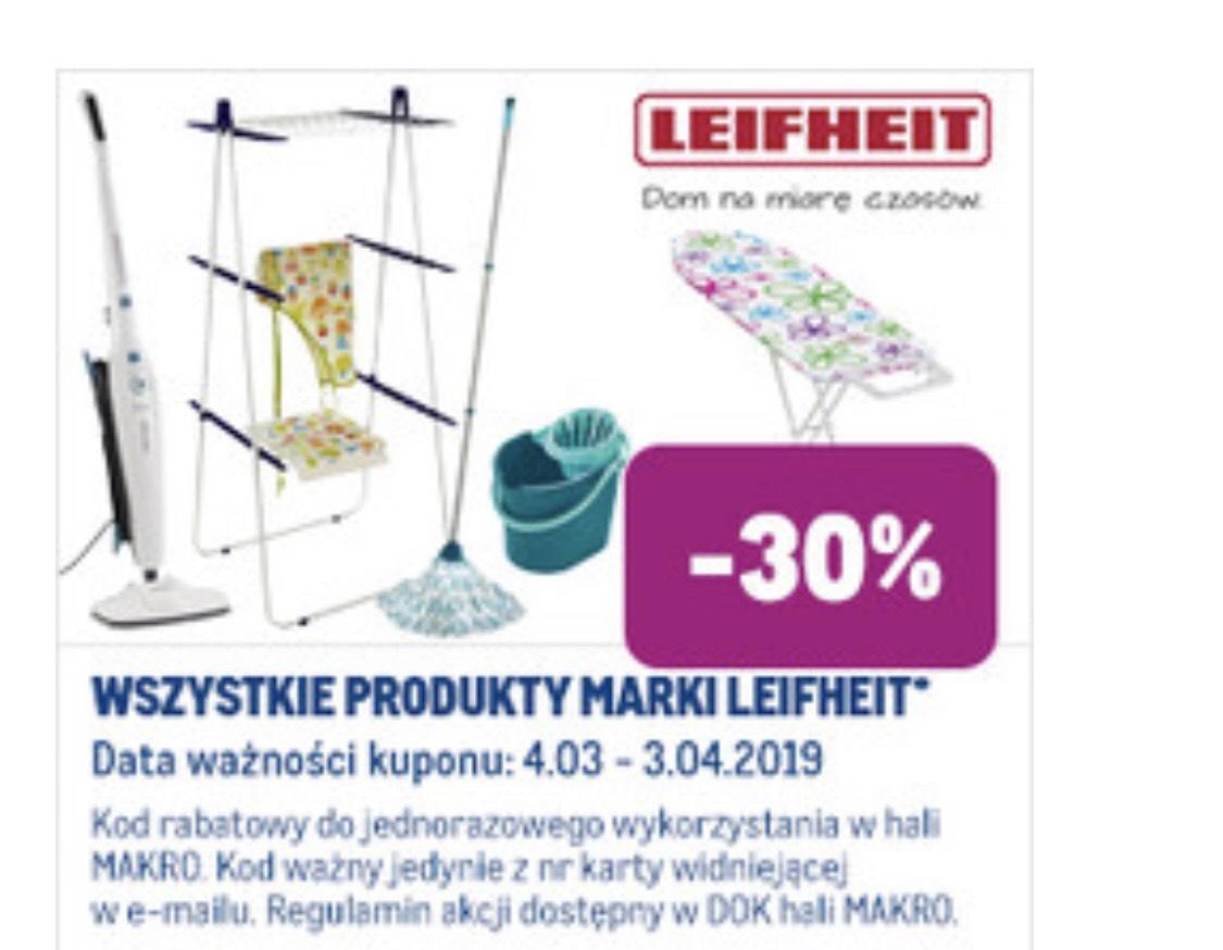 Wszystkie produkty marki Leifheit -30% w Makro