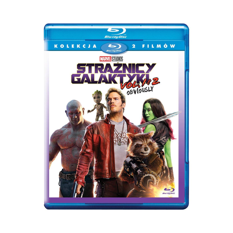 Guardians Of The Galaxy  Strażnicy Galaktyki vol. 2 i vol 1 - Pakiet BOX BD W Media Markt