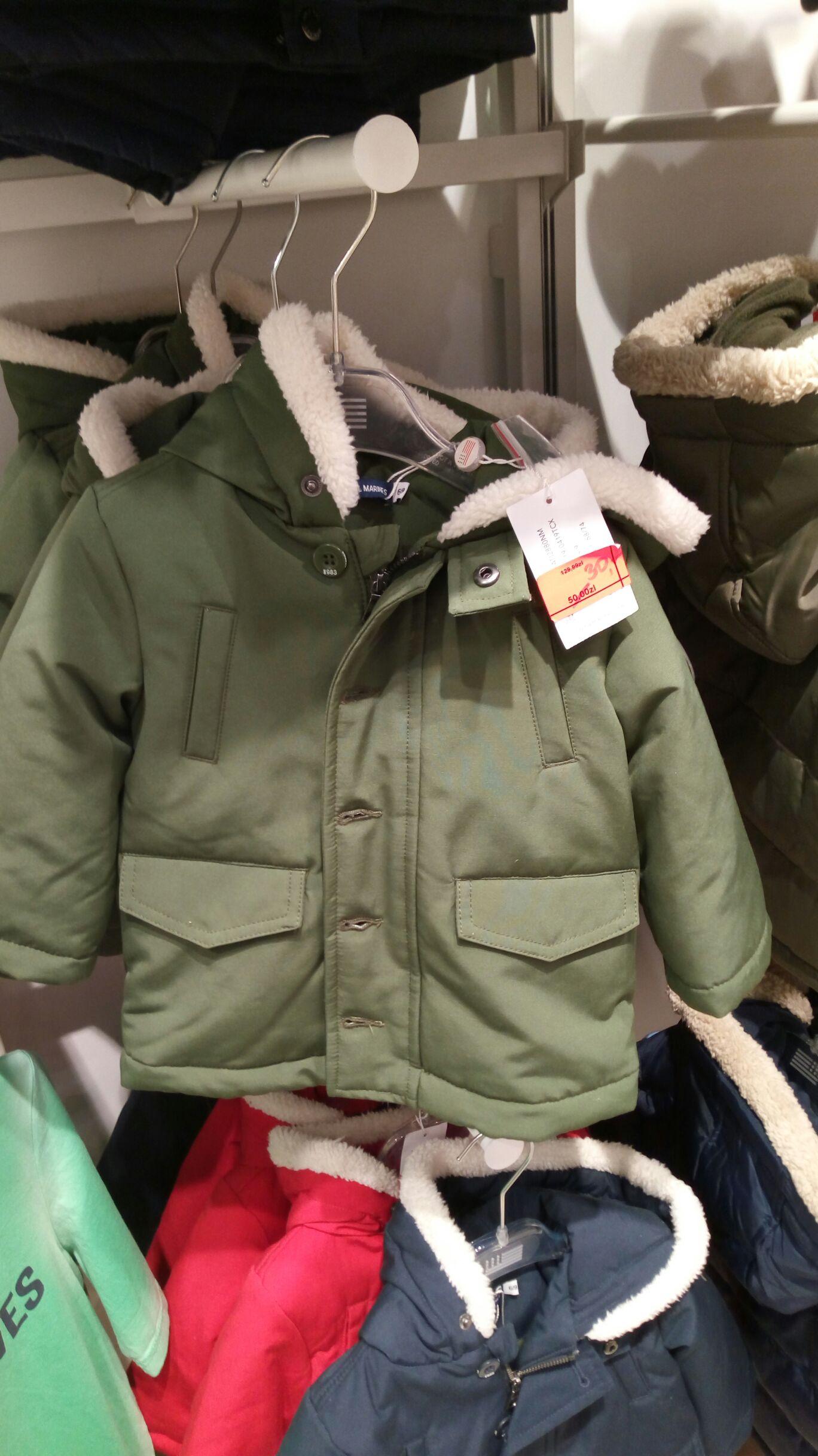 Likwidacja sklepu Original Marines w Galerii Krakowskiej stara kolekcja od 5zł, wszystkie kurtki za 30zł