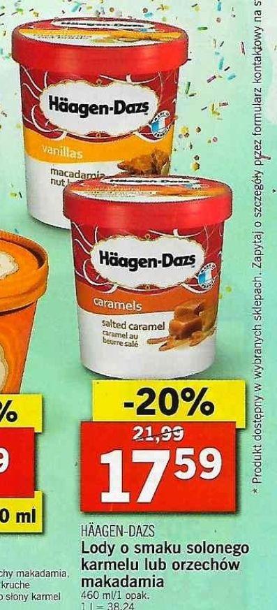 Lidl - Lody Haagen-Dazs