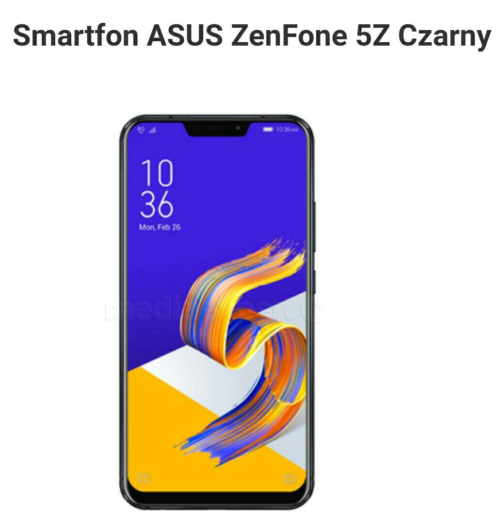 Asus ZenFone 5z w bardzo dobrej cenie z kodem. (dostępne inne produkty czyt. opis)