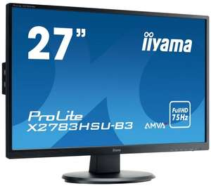 """iiyama ProLite X2783HSU-B3 27"""" AMVA LED 4ms Black @proline"""