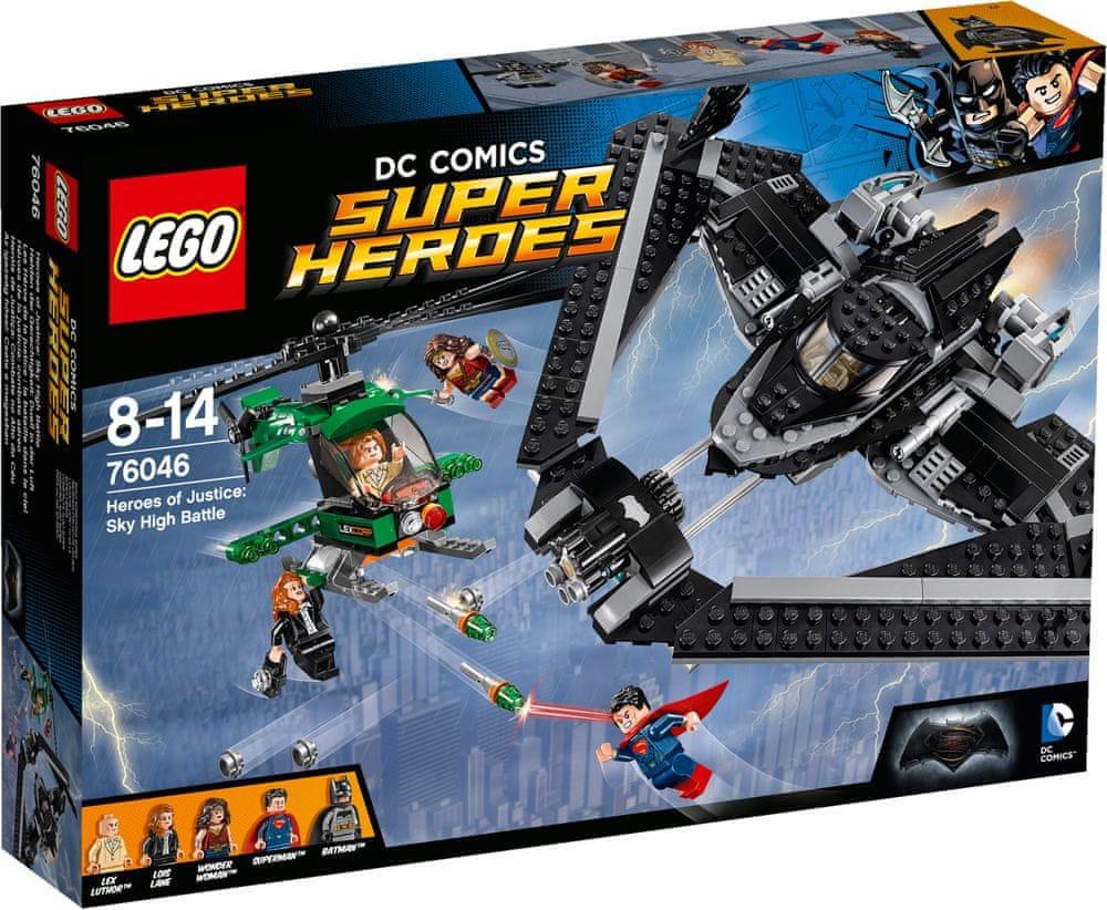 Klocki LEGO Super Heroes 76046 Bitwa powietrzna za 140zł @ Mall