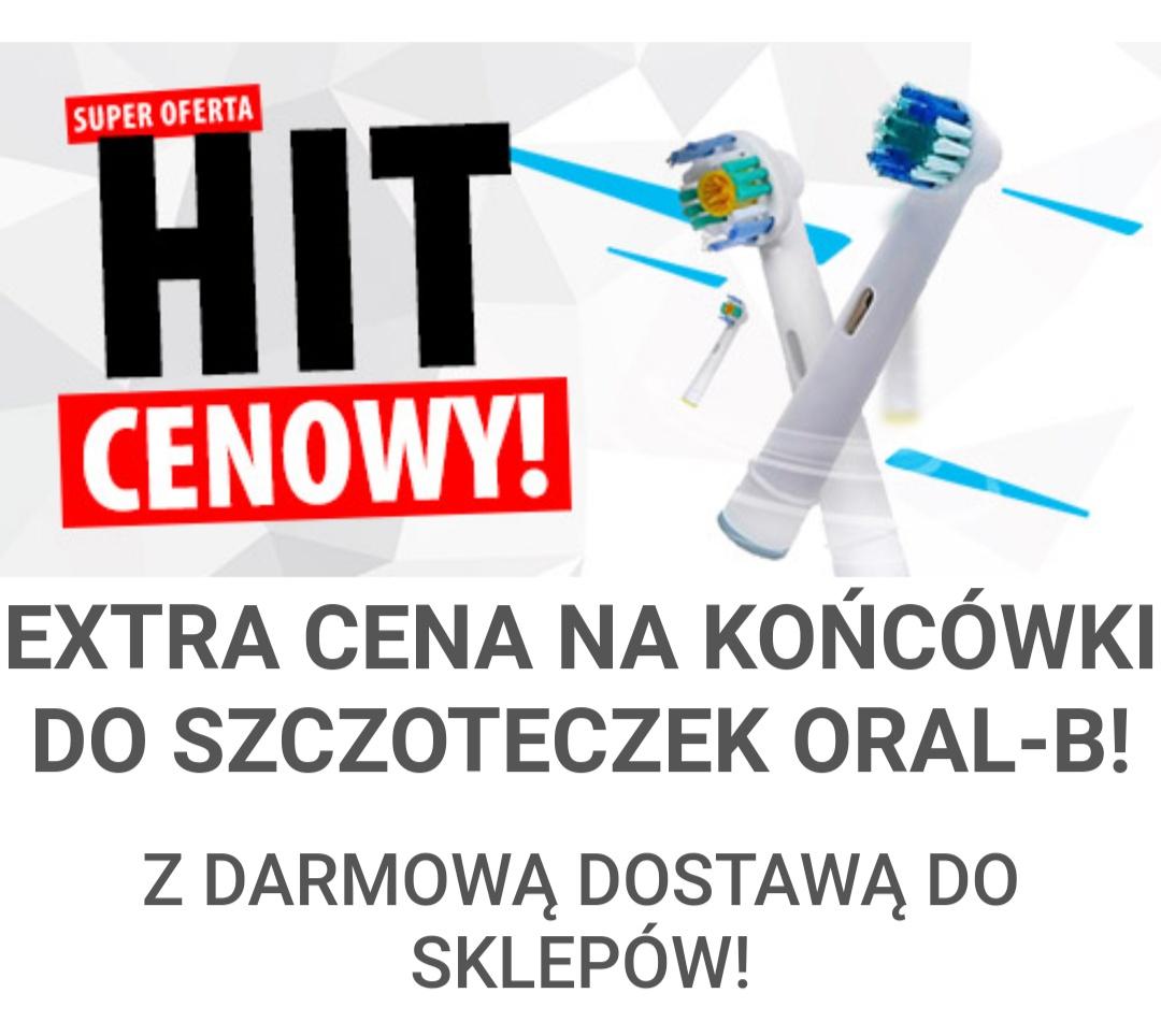 Końcówki do Oral B Dentix za 6zl 4 sztuki! @mediaexpert