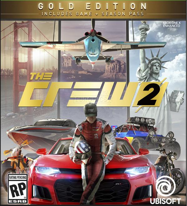 THE CREW 2 Gold Edition - najlepsze WYŚCIGI samochodowe MMO online