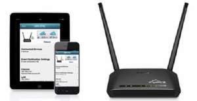 Router D-Link DIR-816L 802.11 a/b/g/n/ac, 750Mb/s
