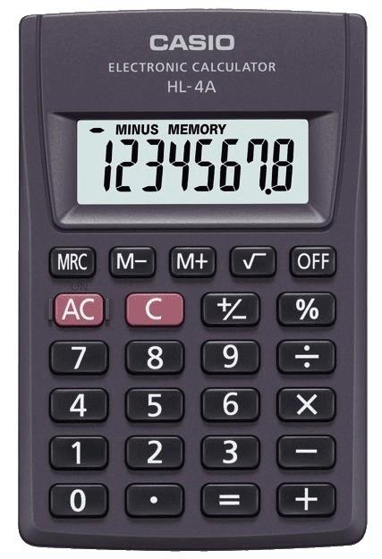 Kalkulator CASIO HL-4A. Carrefour