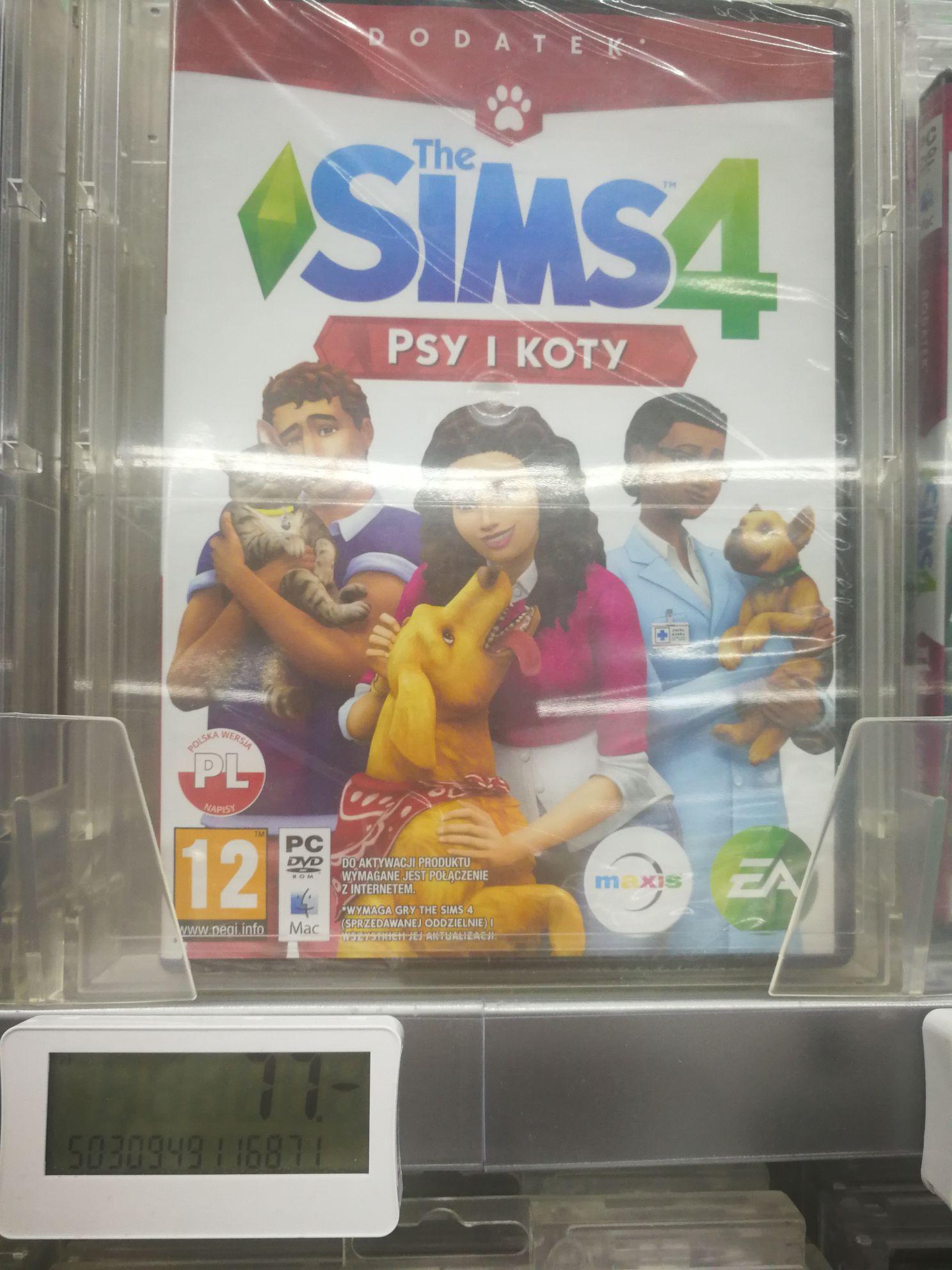 The Sims (psy i koty)