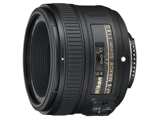 Obiektyw Nikon Nikkor AF-S 50 mm f/1.8G lub za 714 zł na euro.com z darmową dostawą
