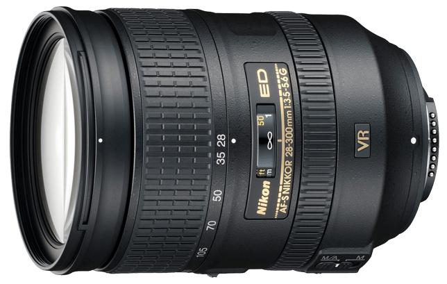 Obiektyw pełnoklatkowy Nikon Nikkor 28-300 mm f/3.5-5.6G ED VR i obniżki na inne sprzęty NIKON w AB FOTO