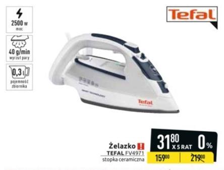Żelazko parowe Tefal Ultragliss Smart Protect FV4971 @ Carrefour