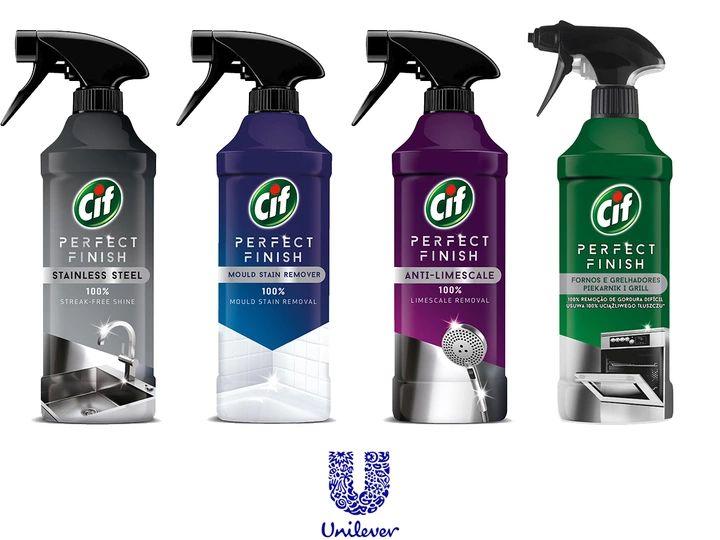 Cif Spray 435ml do stali nierdzewnej, do kamienia, do pleśni i inne Cify w Carrefour