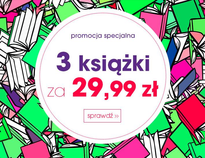 Świat Książki 3 książki za jedyne 29,99 zł