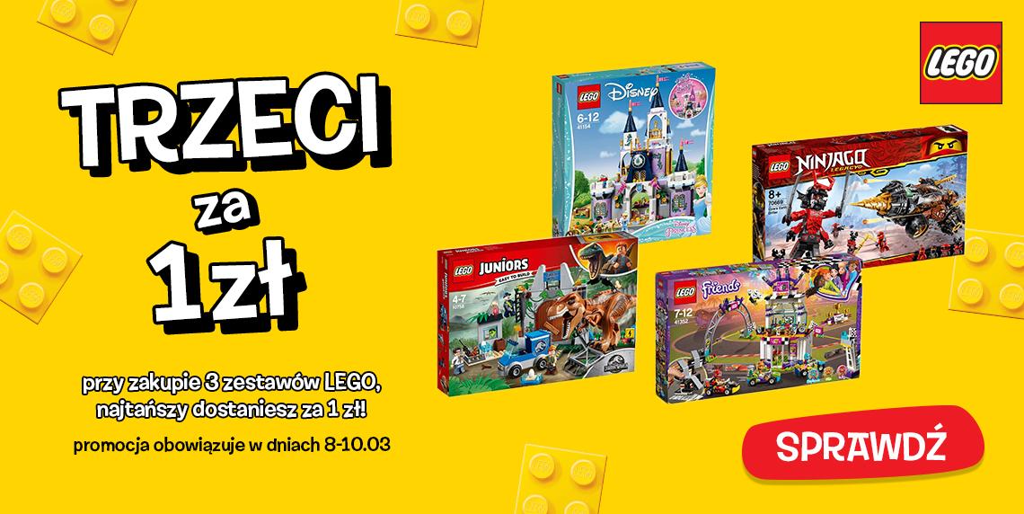 toysrus 3 za 2 dotyczy również LEGO