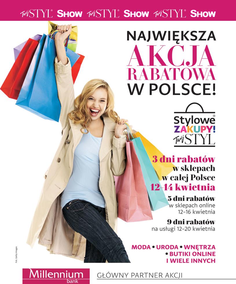 Stylowe Zakupy - akcja rabatowa miesięcznika Twoj Styl i Show. Kupony zniżkowe od 12.04