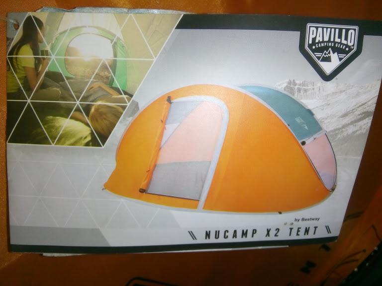 Namiot Pop-up Nucamp X2 Tent
