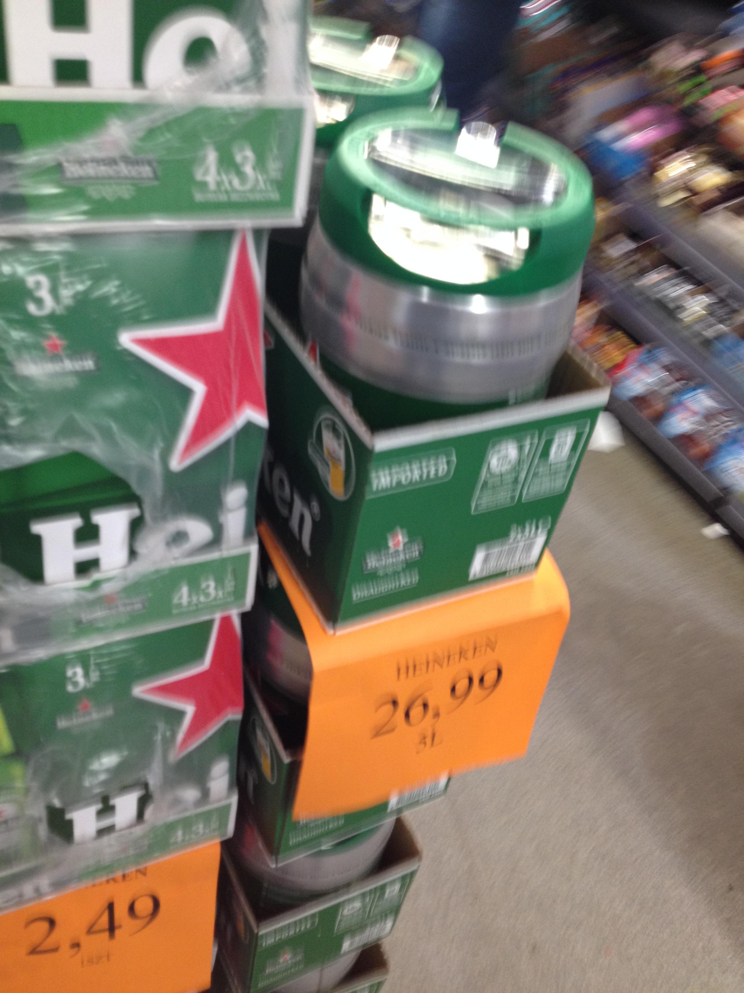 Piwo Heineken 5L plus kilka innych promocji Wrocław Longinus Dworcowa