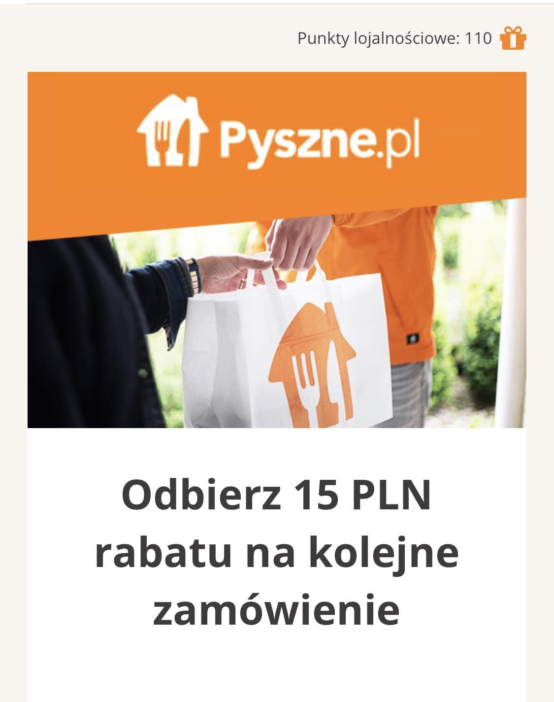 15 zł na pyszne pl