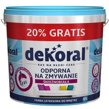Farba lateksowa Dekoral 12L