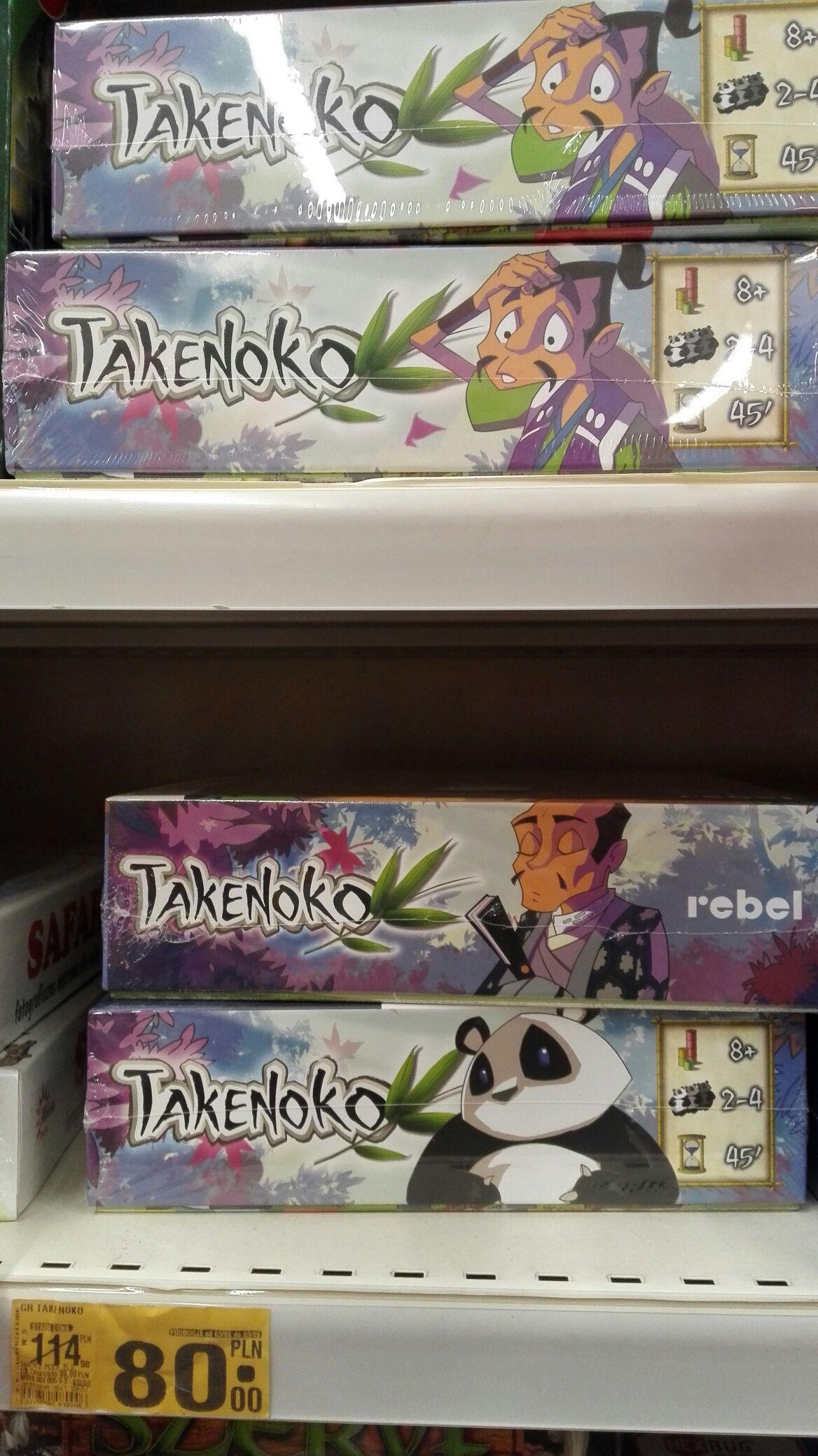 Gra planszowa Takenoko w najniższej cenie - Auchan Legnica