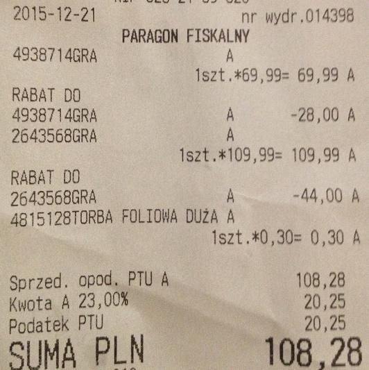 Rabat 40% przy zakupie dwóch gier Mattel @ smyk