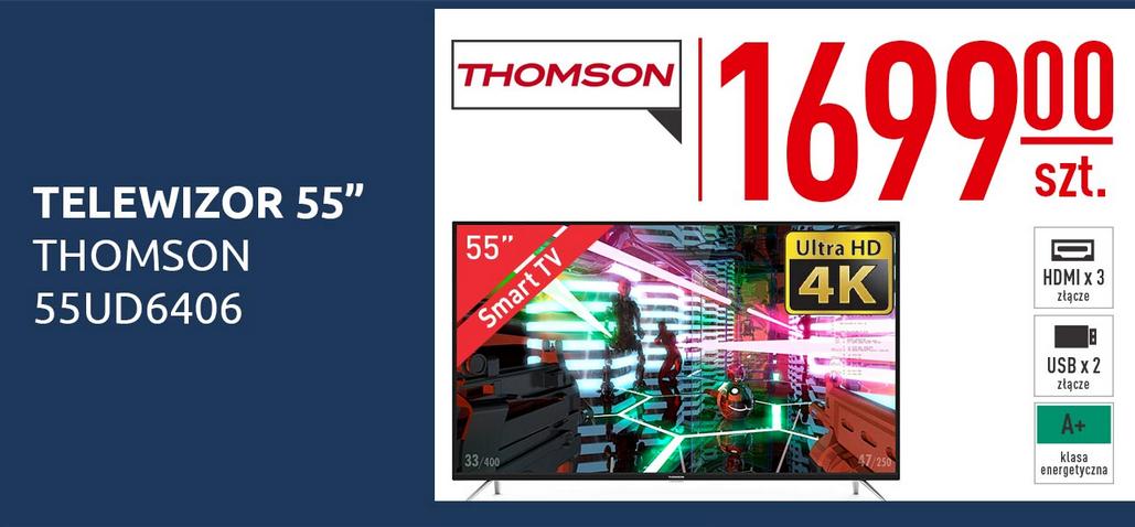 """Telewizor Thomson 55UD6406 55"""" za 1699zł @ Carrefour"""