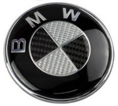 Znaczek BMW na samochód