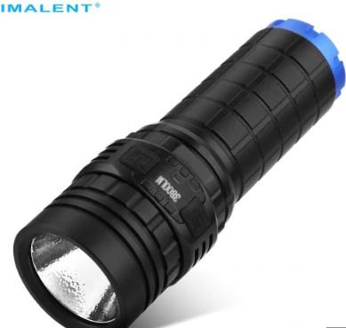 Latarka akumulatorowa IMALENT DN70 - czarna
