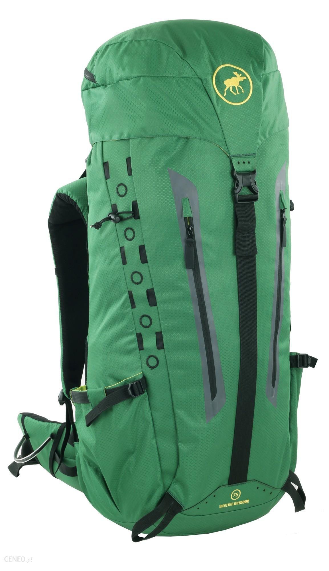 Pojemny plecak turystyczny Westige Lappi 75L, zielony