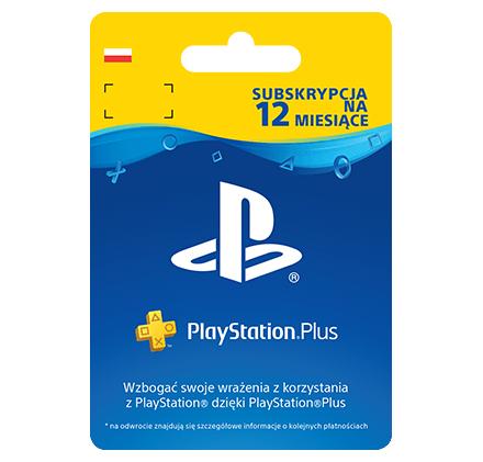 Playstation Plus 12 miesięcy @ Empik