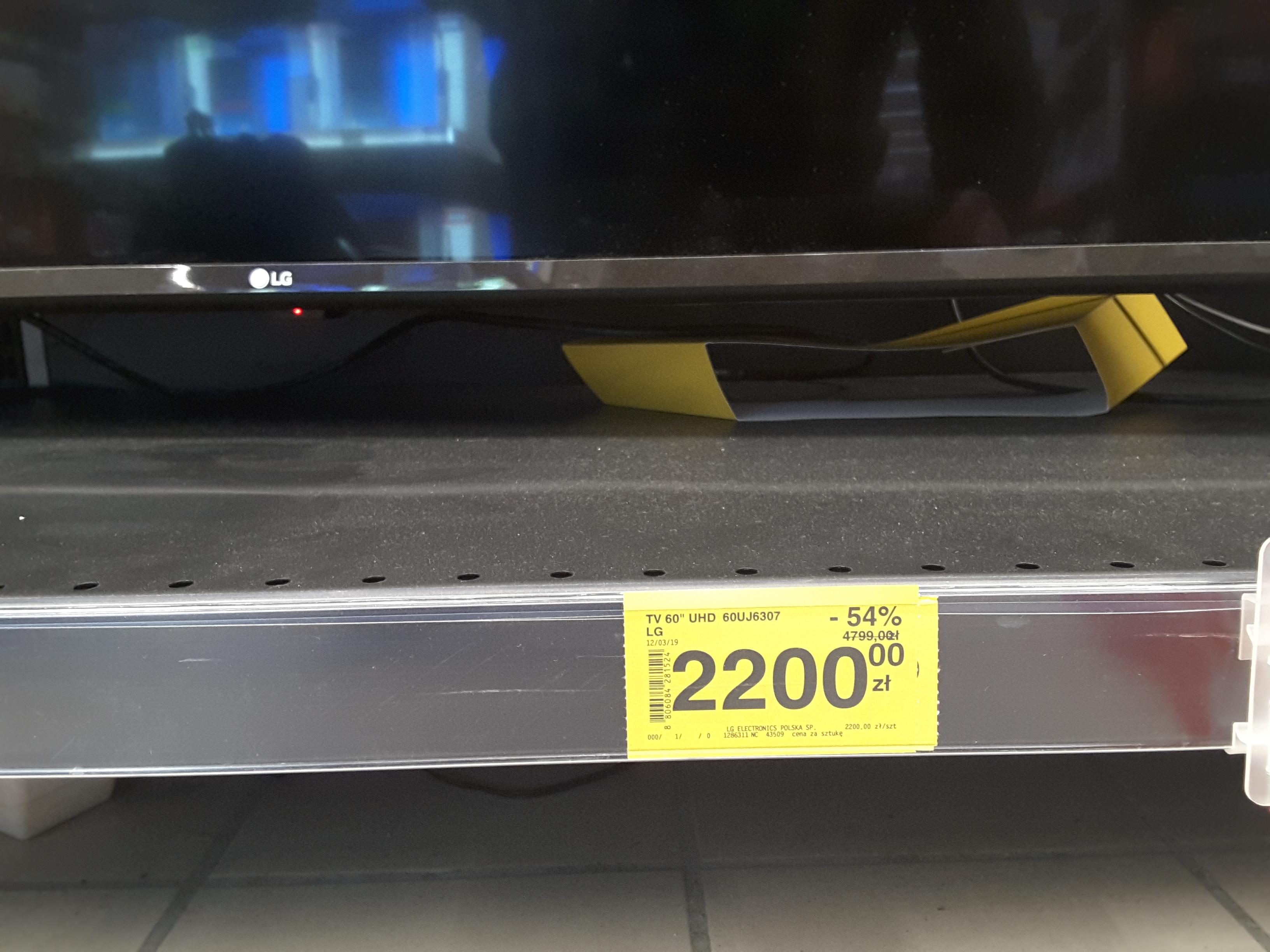 Telewizor LG 60UJ6307, Carrefour