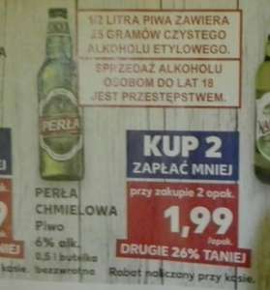 Perła chmielowa (Zielona butelka) - KAUFLAND
