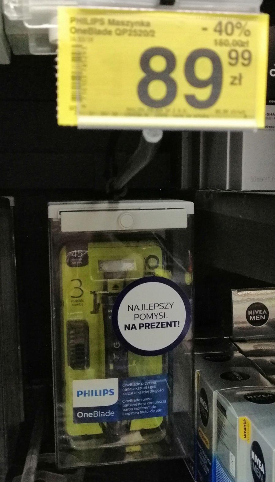 Maszynka do golenia Philips Oneblade QP2520/20 Carrefour Gdańsk Morena