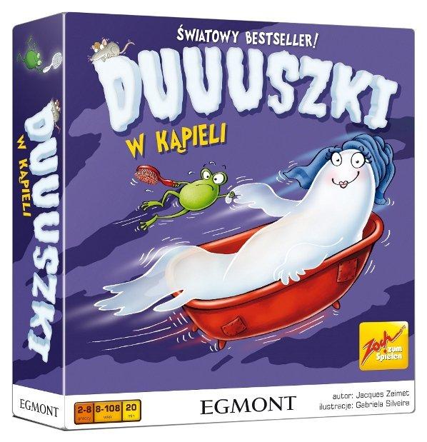 Duuuszki w kąpieli - gra planszowa dla dzieci w Empiku