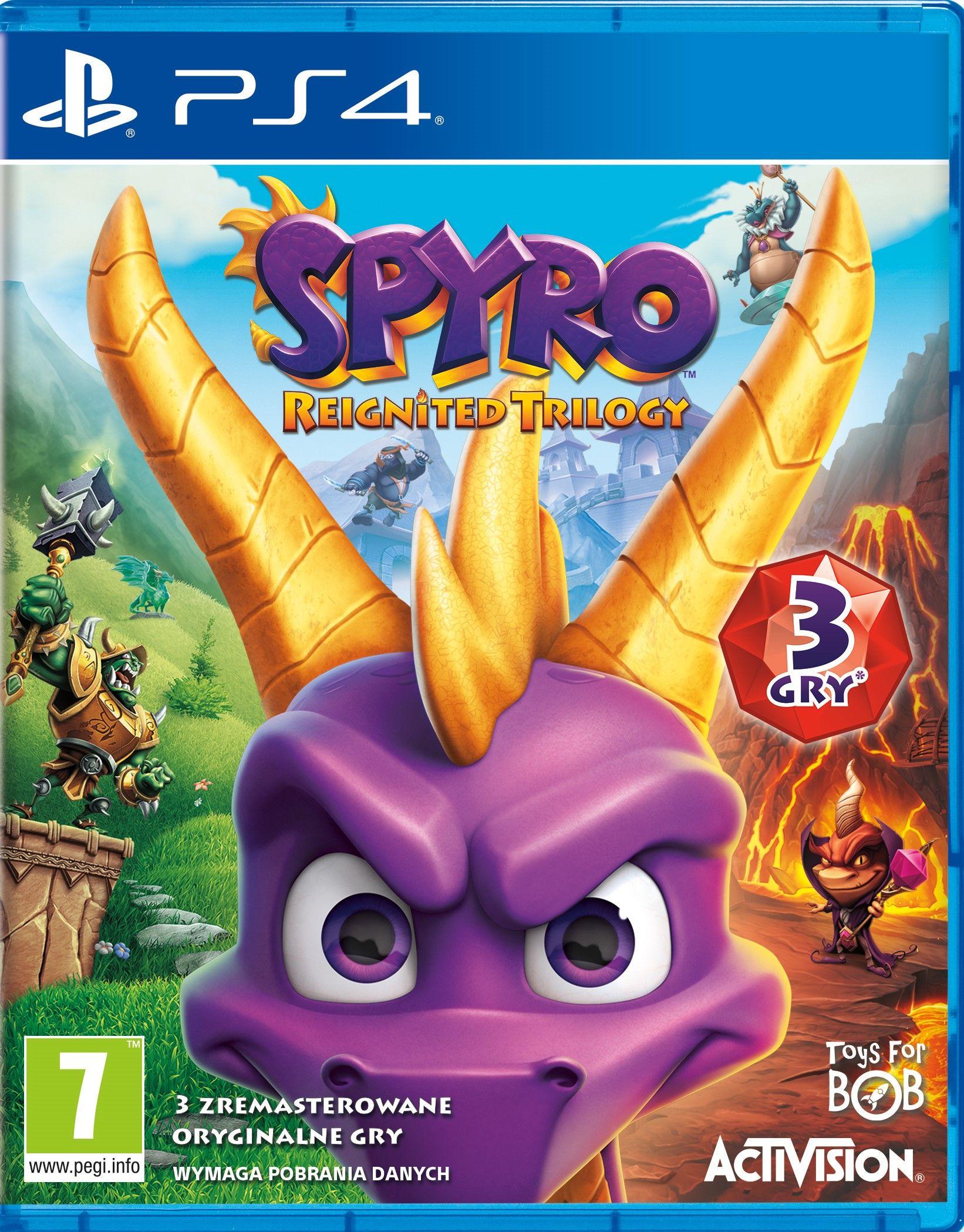 Spyro Reignited Trilogy PS4/XBox