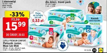 Pieluszki Lupilu Premium rozmiar 3,4,5 Lidl