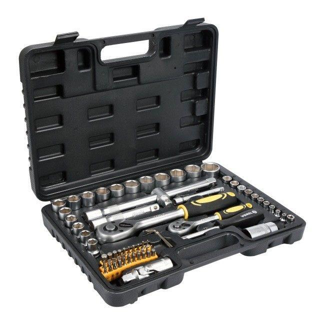 Zestaw narzędziowy Vorel 1/2'' i 1/4'' 72 szt.