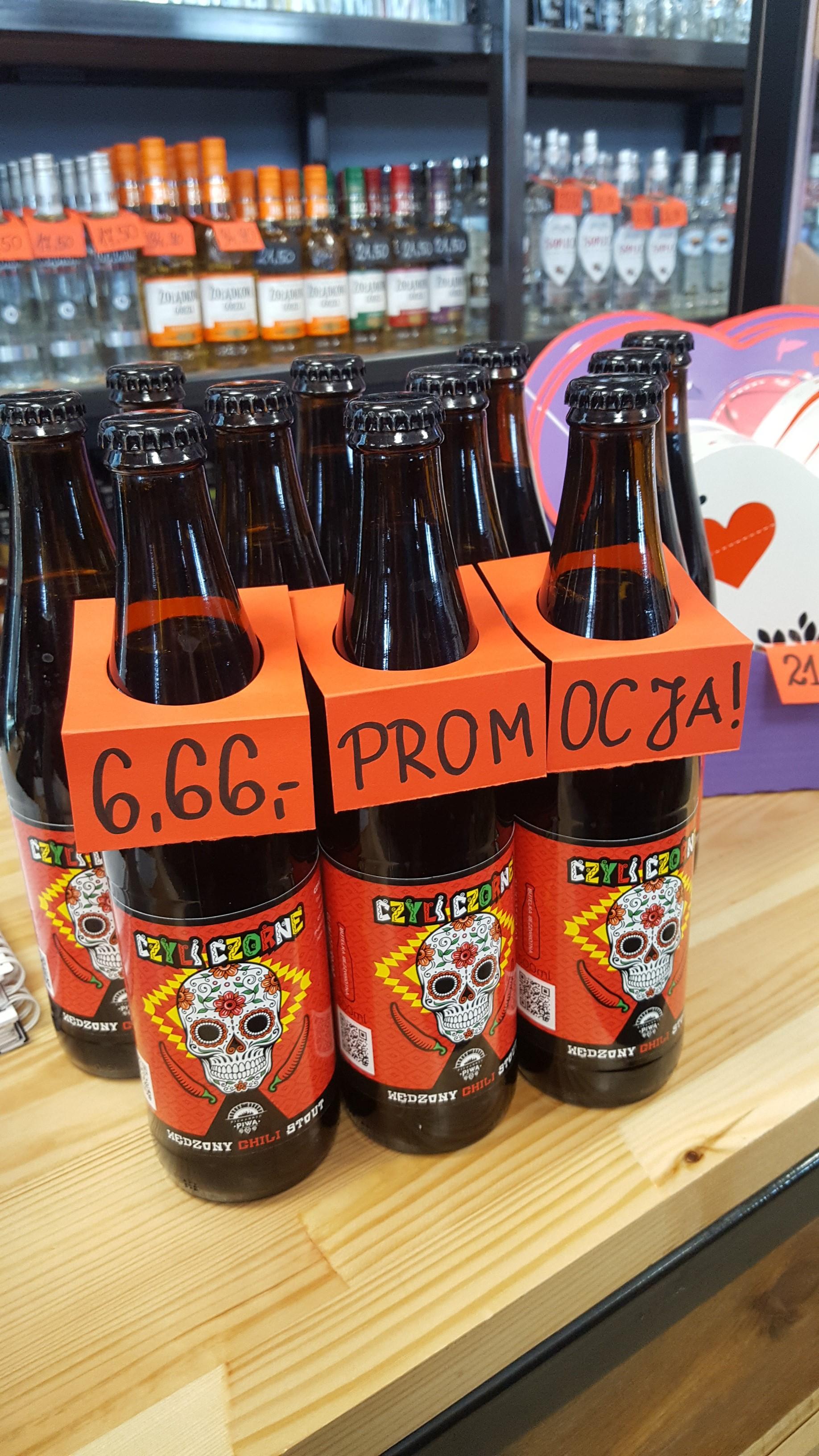 Piwo Piekarnia Piwa CzyliCzorne wędzony chilli stout @ Szczyrba (Katowice)