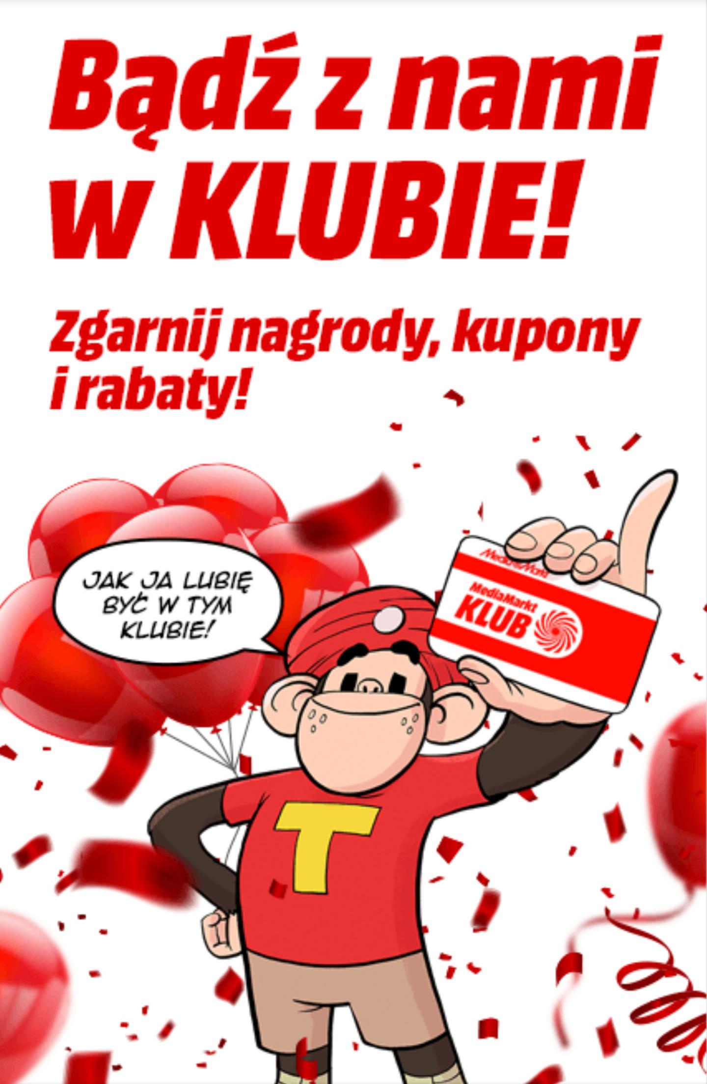 Kupon 40 zł od Klub MediaMarkt (MWZ 240 zł)